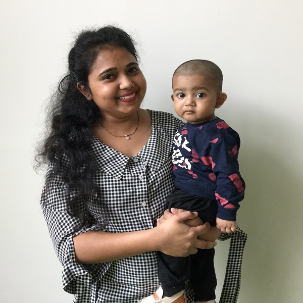 Princi Alok, Mother of Tavish Alok, Infant Care-GTP